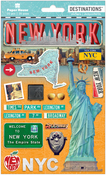 Travel New York City 2-D Stickers - Paper House