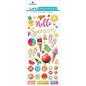 Summer Fun Puffy Stickers - Paper House