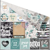 Live Loudly Paper - Zella Teal - Prima