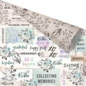 Collect Memories Paper - Zella Teal - Prima