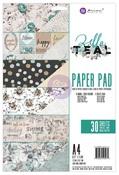 Zella Teal A4 Paper Pad - Prima
