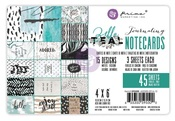 Zella Teal 4 x 6 Journaling Cards - Prima