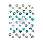 Zella Teal Say It In Crystals Pieces - Prima
