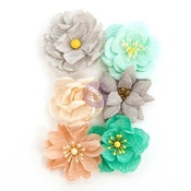 Made With Love Flowers - Zella Teal - Prima