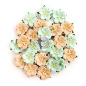 Blissful Delight Flowers - Zella Teal - Prima