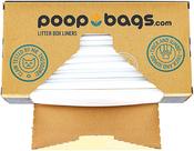 Poop Bags Cat Pan Liners 10ct