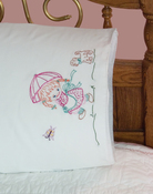 "Boy & Pony - Stamped Perle Edge Pillowcases 30""X20"" 2/Pkg"