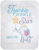 """34""""X43"""" - Twinkle Twinkle Little Star Stamped Cross Stitch Kit"""