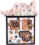 Trick Or Treat - Sizzix Framelits Die & Stamp Set By Lindsey Serata 7/Pkg