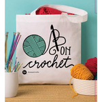 Crochet Hooked - Boye Tote Bag