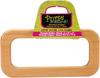 "Natural 2/Pkg - Wood Handbag Handles 4""X8-1/8"" Rectangle"