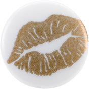 "Lips - Sweet Shimmer Buttons 1"" 2/Pkg"