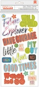 Explorer Boy Phrase Thickers - Wild Child - Pink Paislee