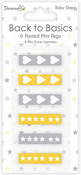 Baby Steps - Dovecraft Back To Basics Mini Pegs 6/Pkg