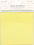 "Baby Steps - Dovecraft Back To Basics Cards W/Envelopes 6""X6"" 12/Pkg"