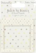 Baby Steps - Dovecraft Back To Basics Photo Frames 8/Pkg