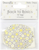Baby Steps - Dovecraft Back To Basics Tags 16/Pkg