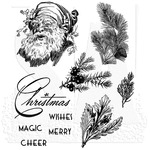 Christmas Classic Tim Holtz Cling Stamps