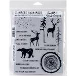 Great Outdoors Tim Holtz Cling Stamps