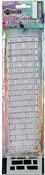 "Brickwork - Dyan Reaveley's Dylusions Clear Stamp & Stencil Set 9"""