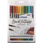 Natural - Le Plume II Double-Ended Brush Lettering Marker Set 12/Pkg