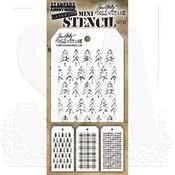 Tim Holtz Mini Layered Stencil Set #32
