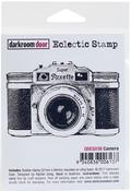 """Camera - Darkroom Door Cling Stamp 3""""X2"""""""