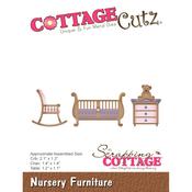 """Nursery Furniture 1.1""""X2.1"""" - Cottagecutz Die"""