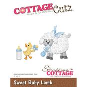 "Sweet Baby Lamb 2""X2.1"" - Cottagecutz Die"