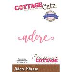 "Adore 3.3""X1.2"" - CottageCutz Expressions Plus Die"