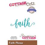 "Faith 3.3""X1.4"" - CottageCutz Expressions Plus Die"