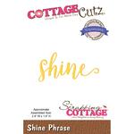 """Shine 2.9""""X1.4"""" - CottageCutz Expressions Plus Die"""