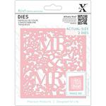 Mr & Mrs - Xcut Decorative Dies 2/Pkg