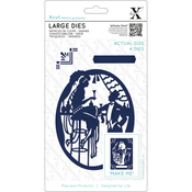 Art Deco Bar - Xcut Decorative Dies Large 4/Pkg