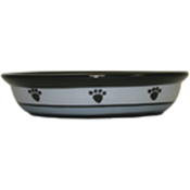 Metro Paws - PetRageous Designs Oval Saucer - Holds 1 Cup