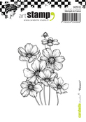 Flowers - Carabelle Studio Cling Stamp A7