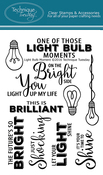 "Light Bulb Moment - Technique Tuesday Clear Stamps 4""X6"""