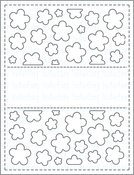Flower Panel - Your Next Stamp Die