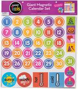 "Giant Magnetic Calendar Set 17.5""X13.5"" 94pcs"
