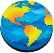 Earth - Magnetic Whiteboard Eraser 1/Pkg
