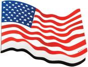 American Flag - Magnetic Whiteboard Eraser 1/Pkg