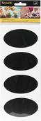 Oval - Chalkboard Stickers 8/Pkg