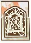 Sent With Love - Tonic Studios Artist Trading Card Die Set