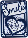 Smile - Tonic Studios Artist Trading Card Die Set