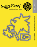 Poinsettia - Waffle Flower Die
