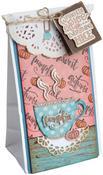 Pumpkin Spice & Everything Nice - Sizzix Framelits Die & Stamp Set By Lindsey Serata 7/Pkg