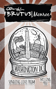 City Sidewalks-Washington Dc - Brutus Monroe Clear Stamps 3x4