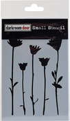 "Wildflowers - Darkroom Door Stencil 4.5""X6"""