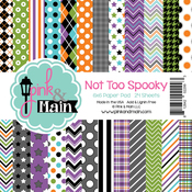 "Not Too Spooky - Pink And Main Double-Sided Cardstock 6""X6"" 24/Pkg"