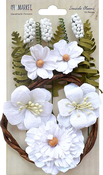 "Cotton - Seaside Blooms 1.5""-2.25"" 16/Pkg"